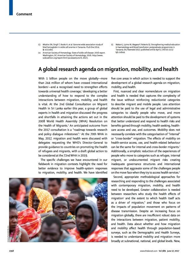 HanefeldVeareyLuntetal Lancet 16Jun2017